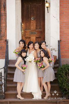 New York Wedding Bridesmaids