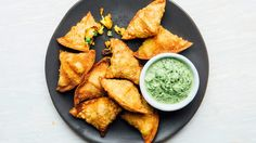 Shingaras are the Bangladeshi style of samosas—filled and fried savory pastries usually served as an appetizer or snack. Assuming you're not making your own dough, empanada wrappers are the closest approximation of homemade in both flavor and texture. These are traditionally formed into an elegant triangle shape, and we have step-by-step photos of that process here.