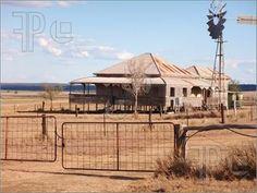 Image detail for -Illustration of Old Outback House, Australia