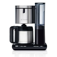 Cafeti�re isotherme programmable 8-12 tasses �cran LCD TKA86 Styline