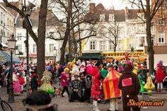 Straat carnaval in Maastricht