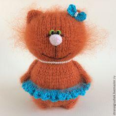 Купить Киска Рыжуля. - рыжий, киска, коты и кошки, кошка игрушка, кошка в подарок