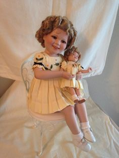 "Danbury Mint-Shirley Temple-""Shirley and Her Doll"""