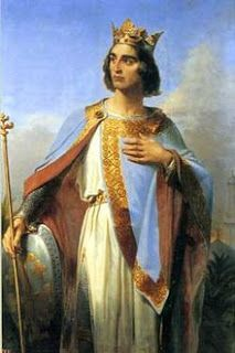 BALDWIN  I, 1st king of Jerusalem... On 25 December 1100, in the Church of the Nativity in Bethlehem; a date and place steeped in symbolism, the patriarch (Daimbert) crowned and anointed Baldwin of Boulogne as the first Frankish King of Jerusalem.