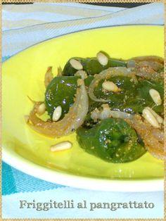 Friggitelli al pangrattato (Friggitelli peppers breadcrumbs)