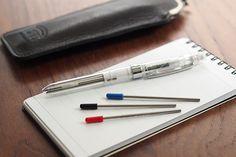 Platinum Double Reaction Mechanical Pencil + Ballpen Refill