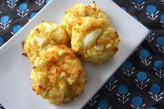 Cheesy Cauliflower Cakes: A Spin on the Traditional