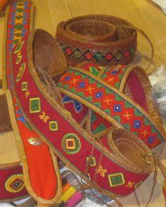 Sjøsamiske kråkesølvbelter, Coastal Saami belts from Lyngen, Ivgu, Norway Lappland, Native Style, Samara, Traditional Outfits, Handicraft, Norway, Folk Art, Scandinavian, Embroidery