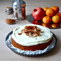 Carrot cake // nannasmat.tumblr.com