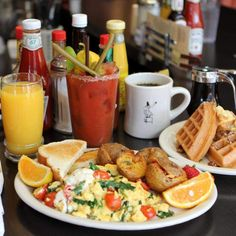 A '60s decorated joint serving up fattening yet delicious items like fried mac & cheese wedges or a selection of ridiculous egg skillets. Stop in for their classic brunch with a generous serving...