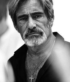 "Gérard Lanvin, saw him in the movie ""Les Lyonnais (A Gang Story)"", fabulous! Star Francaise, Dark Men, People Of Interest, Music Film, Film Biographique, Man Photo, Male Face, Attractive Men, Best Actor"
