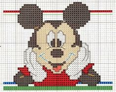 ... on Pinterest | Baby mickey, Mickey mouse and Cross stitch patterns