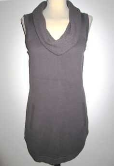 * * * Zero Pullover/Kleid ärmellos taupe, Gr.42 * * * Pullover Sweaters, Taupe, Zero, Women, Ebay, Fashion, Sleeveless Tops, Curve Dresses, Beige