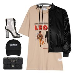 """Leon"" by hernamewaslily ❤ liked on Polyvore featuring Chanel and Givenchy"