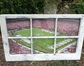 UGA Football Window @Allyson Angelini Morris
