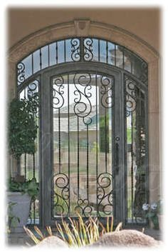 Find this Pin and more on Fabulous Front doors  Porches  Shutters   Exteriors by emmeline new Wrought iron entry door   What about something like this    House  . Architectural Doors And Hardware Casper Wy. Home Design Ideas