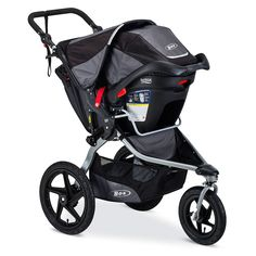 The BOB Revolution FLEX is the ideal on- and off-road jogging stroller, for outdoor enthusiasts and urbanites alike, keeping families active for the years to come. So whether you want a vigorous training session or a nice long walk, the Revolution FLEX is the ideal stroller.<br><br>This stroller is amazingly versatile. The front wheel swivels, which allows for easy maneuverability through parks, city streets and other tight spots, but also locks for added stability when jogging or taking on…
