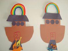 Preschool Crafts for Kids*: Noah's Ark Bible Craft 7