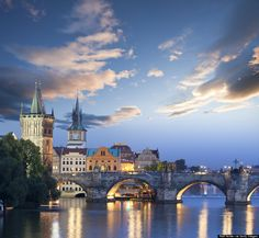 I had a piece of pie for my birthday in the little restaurant under Charles' Bridge in Prague. Good memories. :)