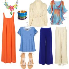 Bright Spring Basics 1, created by julesmitch on Polyvore