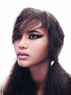 Chrishell Stubbs for TopShop Exclusive Spring Make up Campaign 2011 3
