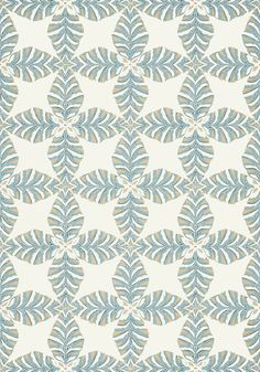 STARLEAF, Aqua, T2972, Collection Paramount from Thibaut