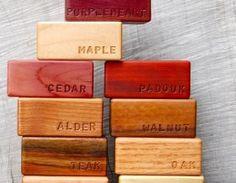 Natural Hardwood Building Blocks