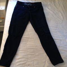 Express jeans women's size 10 regular Dark blue jeggings regular size 10 Express Jeans Skinny
