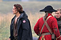 Here's proof they're really at it again....and the battle of Culloden is underway and Jamie's a bit bloody.    http://www.dailyrecord.co.uk/scotland-now/bloody-battle-culloden-scenes-outlander-8711344