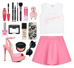"""""""Untitled #40"""" by directioner2107 ❤ liked on Polyvore featuring RED Valentino, Wildfox, ALDO, Maybelline, Yves Saint Laurent, Marc Jacobs, Casetify, NARS Cosmetics, Le Métier de Beauté and Sigma Beauty"""