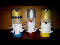 Como fazer os três reis magos - DIY - How to make the Christmas Three Kings - YouTube