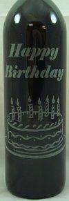 Bottle engraving for Long Island Wine & Spirit. Say It On A Bottle