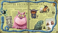 From: MONSTROUS BOOK OF MONSTER by Dr. Thomas Jelly, illustrated by Jonny Duddle, Aleksei Bitskoff, and Libby Hamilton.