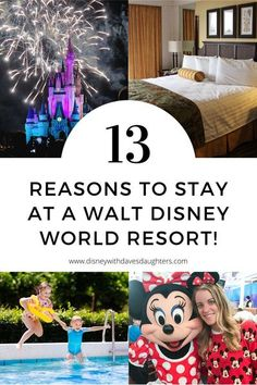 Planning a Disney vacation and wondering where to stay? Is staying at a Disney resort worth it? Here are 13 reasons to stay on site at a Walt Disney World Resort and hotel!