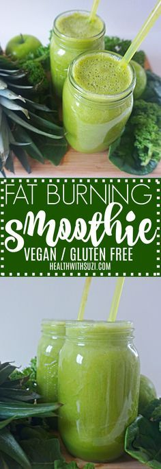 This fat burning green smoothie recipe is THE BEST! I'm so glad I've found this DELICIOUS weight loss smoothie! Finally I can lose weight and get healthy! Definitely Pinning!