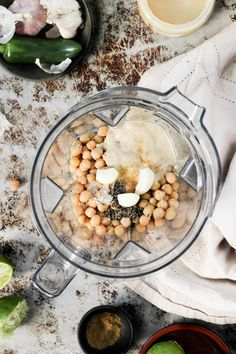 Vitamix Mexi Hummus Dip Recipe - Party Appetizers and Snacks - She Eats