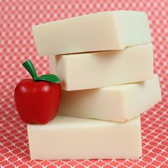 Fruit and Veggie Wash Soap - Soap Queen Might have to put this on my 'to make list!'