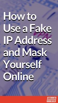 How to Use a Fake IP Address and Mask Yourself Online Sometimes you need to hide your IP address. Here are some ways to mask your IP address and cloak yourself online for anonymity. Computer Projects, Computer Basics, Computer Help, Computer Internet, Computer Security, Computer Tips, Computer Hacker, Computer Photo, Technology Hacks