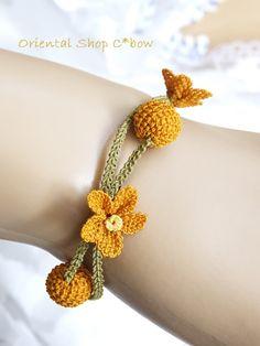 Crochet Earrings Pattern, Crochet Necklace, Textiles, Needle Lace, Lace Flowers, Knit Crochet, Wool, Knitting, Bracelets