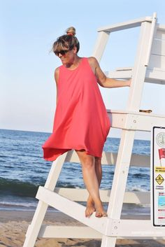 Trapeze DIY Tank Dress | You can go anywhere in this DIY dress!