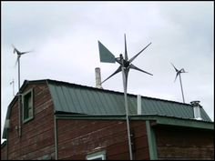 """""""Let the Wind Howl - Living Six Years Without an Electric Bill"""" by Chris Devaney"""