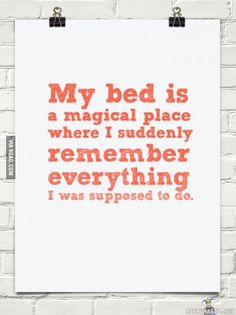 My bed is like this too!