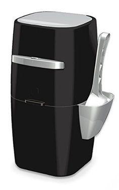 Genie Plus Cat Litter Disposal System Odor Free Pail System, Hygenic Scoop Black #LitterGenie