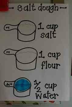 Salt dough recipe