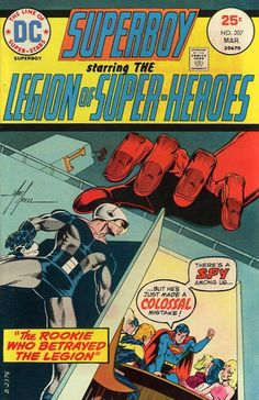 SUPERBOY and THE LEGION of SUPER-HEROES by Mike Grell
