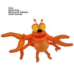 Orange entries Balloon Crab Nicole Greg Blackwood, Adelaide,  South Australia