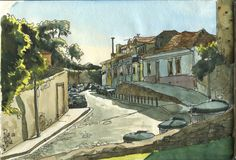 Rua da Pena | 출처: postalguarelas