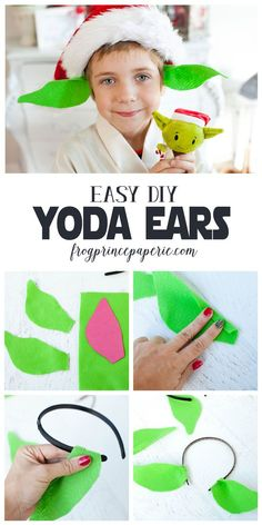 Make 3 easy DIY Star Wars costumes from headbands in minutes a piece!