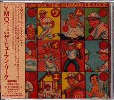 YMO vs The Human League Japan CD