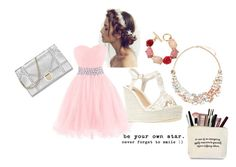 """homecoming #2"" by dragonrose-mint ❤ liked on Polyvore featuring Wet Seal, Oscar de la Renta and Accessorize"